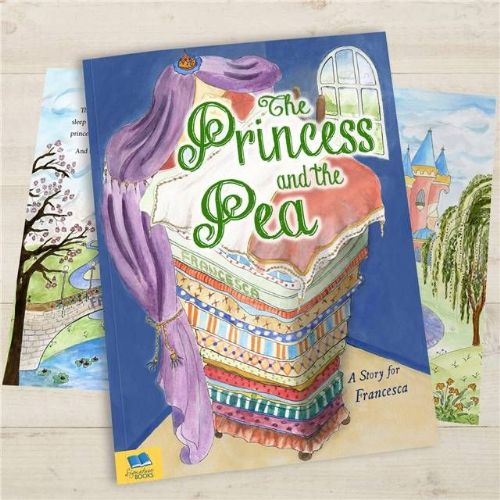 Personalised The Princess and The Pea Fairy Tale Book